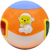 Buddy Fun Move And Crawl Baby Musical Ball – Helps In Crawling (Multicolor)