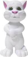 PremK TaIntelligent Touch Talking Tom Cat Toy With Recording - White (White)