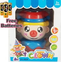 Wecling Happy Clown Musical Toy (Blue, Yellow, Red)