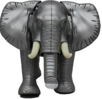 Rahul Toys Light Sound Elephant For Kids (Multicolor)