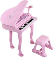 Fantasy India Electronic Keyboard Musical Piano With Microphone For Kids (Multicolor)