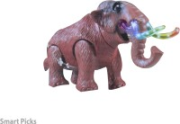 Smart Picks Smart Picks Battery Operated Elephant With Light Aqnd Music (Brown)