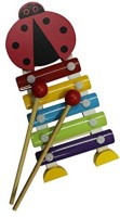 Shopaholic Cartoon Hand Knocks Xylophone (Multicolor)
