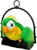 Shop4everything Talk Back Parrot (Green)