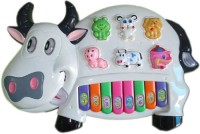 FOOCAT Musical Cow Piano For Kids (Multicolor)