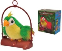 PTC Talk Back Parrot Battery Operated Toy For Kids (Multicolor)