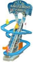 PremK Angry Birds Battery Operated With Lights Amusement Park (Blue, White)