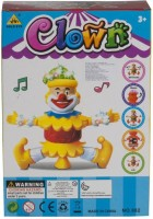 Noorstore Dancing Clown Toy With Music And Sound Effects (Multicolor)