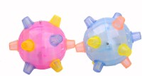 New Pinch Dancing Ball- Flashing & Jumping (pack Of 2 ) (Multicolor)