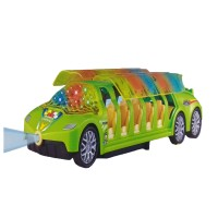 Darling Toys 4D Lights Bump And Go Super Bus (Green)