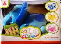 Ruppiee Shoppiee Q Q Cartoon Elephant (Blue)