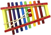 Shopat7 Steel Pipe Xylophone (Multicolor)