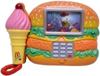 New Pinch Burger Shape Musical Phone For Kids (Multicolor)