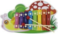 Shopaholic Snail Shape Xylophone (Multicolor)