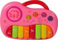 Magic Pitara Play & Learn Piano (Pink) (Pink)