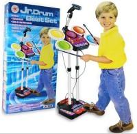 A R Enterprises ELECTRONIC JUNIOR DRUM FOR KIDS (Multicolor)