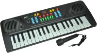 Funny Bunny Melody Mixing 37 Keys Piano For Gift (Black)