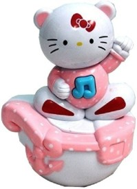 Littlegrin Musical Roly Poly Kitty Baby Toy