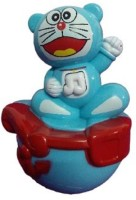 Littlegrin Musical Roly Poly Doraemon Baby Toy (Multicolor)