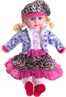 Atc Toys 5 Music Doll Multi Color-Purple (Purple)