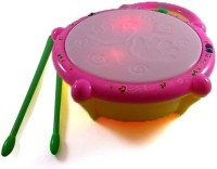 Turban Toys Musical Flash Drum For Kid's (Multicolor)