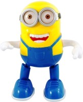Khareedi Musical Dancing Minion Toys For Kids (Yellow, Blue)