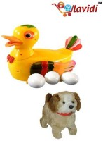 Lavidi Combo Of Two Latest Plastic Toys For Kids (Multicolor)