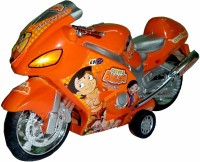 Funny Bunny Chhota Bheem Bike With Sound And Light Toy Gift For Kids (Multicolor)