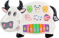 Baby World Baby World Musical Cow Piano (Multicolor)