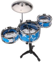 Khareedi Kid's 6 Piece Mini Jazz Drum Set (Multicolor)