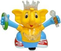 Zaprap Multicolor Musical Dancing Elephant Toy For Kids (Multicolor)