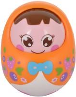 WonderKart Baby Tumbler Doll - Orange (Orange)