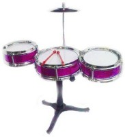 MK Jazz Drum Set For Children (Multicolor)