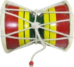 Amroha Crafts Musical Instruments & Toys Amroha Crafts Mango Wood Damro