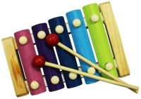 Shopaholic Five Sounds Knock Xylophone (Multicolor)