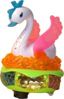 Shopalle Swan Musical Toy For Kids (Multicolor)
