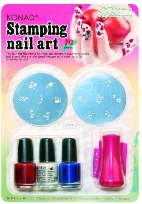 17 Off On Konad Stamping Nail Art Kit Set C Set Of 7 On Flipkart
