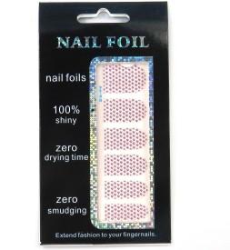SPM Nail Art Foil Sticker For Girls(12 pieces)