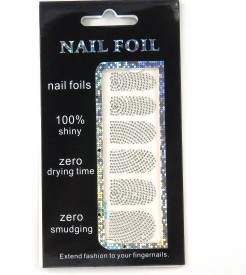 SPM New Nail Art Foil Sticker kit