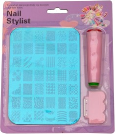 Imported Nail Art Stamping Kit Image Plate XY14