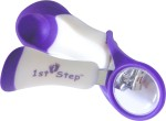 1st Step Baby Nail Cutters 1st Step Purple Nail Clipper With Magnifying Glass