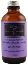 Karma Organic Spa Lavender Nail Polish Remover