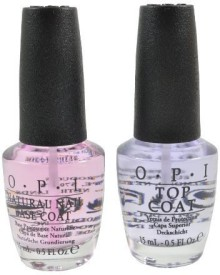 OPI Natural Nail Base Coat & Top Coat 15 ml
