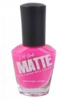 L.A. Girl Matte Flat Finish 14 Ml (Matte Pink Nl 533)