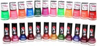 Foolzy Pack Of 24 Quickdry Nail Polish Paints 144 Ml (24 Quickdry Nail Paints)