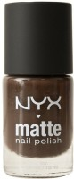 NYX Matte Nail Polish 10 Ml (Matte Chocolate)