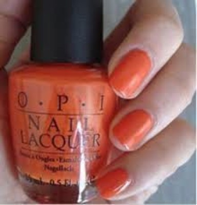OPI Atomic Orange Nail Lacquer B39 15 ml