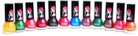 Foolzy Pack Of 12 Nail Polish Paint 72 Ml (Silky)