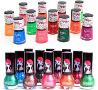 Foolzy Pack Of 24 Colorcrush Nail Polish Paints 150 Ml (24 Colorcrush Nail Paints)