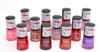 Foolzy Pack Of 12 Light 2 Nail Polish Paint 72 Ml (12 Light 2 Shades)